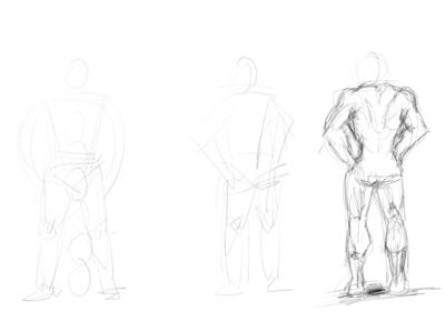 body body people digital art sketch pencil art illustration