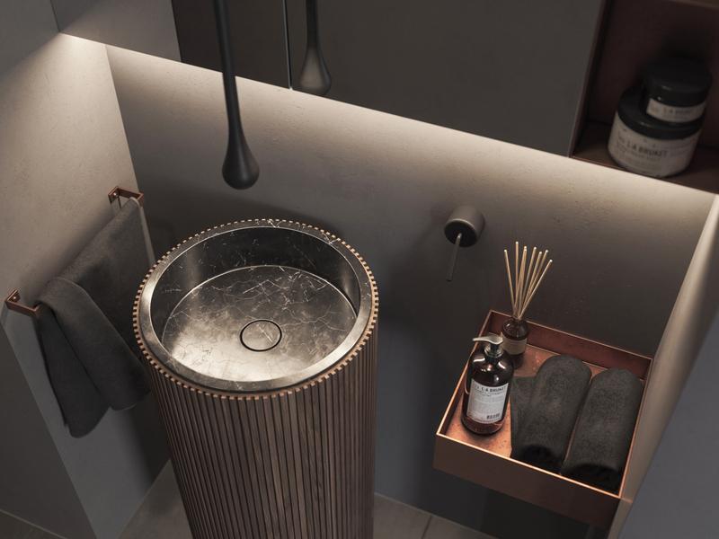 MOODY BATHROOM interiordesign usa visualization mood fstorm bathroom render cgi interior design interior