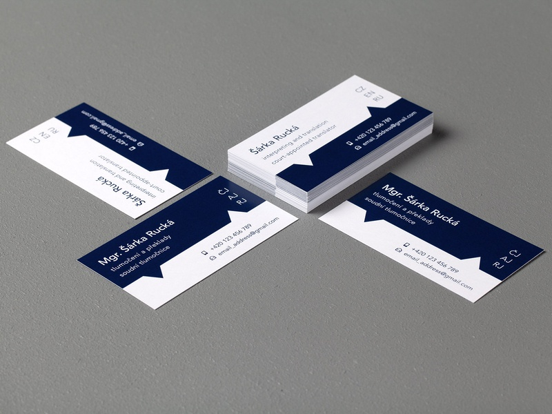 Business cards – court-appointed translator typography design business cards business card design business card businesscard