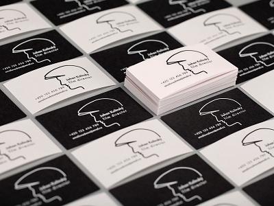 Business cards - film director illustration typography design business cards business card design business card businesscard