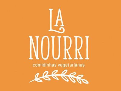 La Nourri Logo @branding @logo @design
