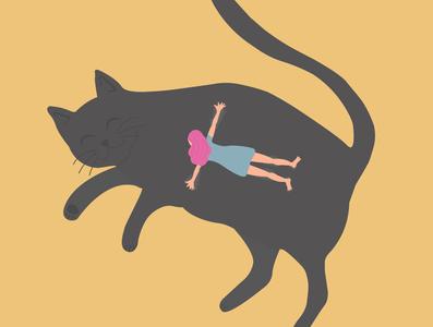 Cat Illustration @design @vector @illustration