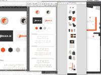 Maker.io Branding progress shot