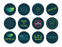 Limetree Labs Stickers