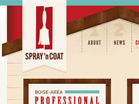 Spray 'n Coat website