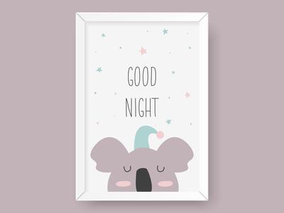 Good night koala