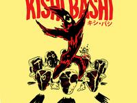 """KISHI BASHI """"The Ballad of Mr. Steak"""" SHIRT"""
