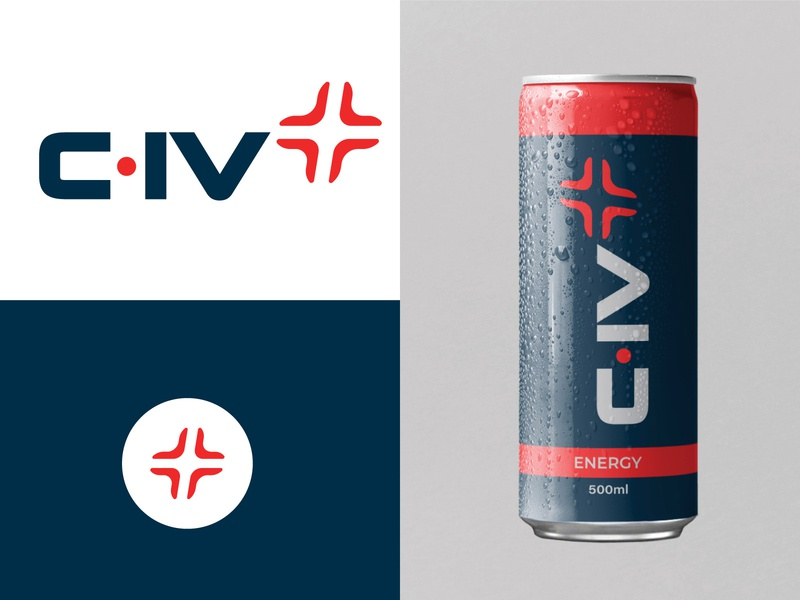 C•IV+ packaging logodesign branding logotype logo