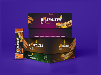 Ulcer energy Bar Packaging