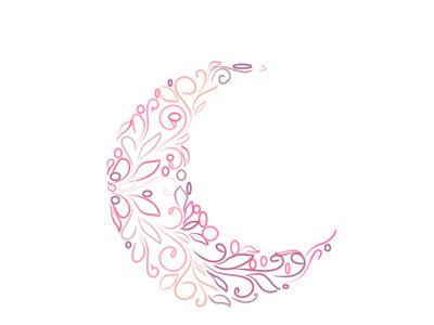 moon 2 art ux website vector typogaphy logo illustrator illustration design brand