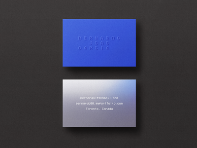Personal Business Card typography design brand adobe xd photoshop logo brand design branding graphic design brand identity