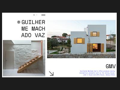 GMV Homepage web design ux uiux adobe xd typography branding brand identity photoshop brand design graphic design