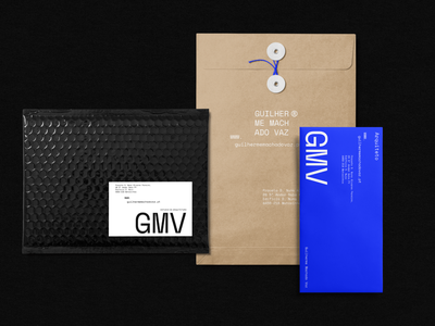 GMV Branding & Stationery Assets architecture art direction adobe xd typography logo branding brand identity photoshop brand design graphic design