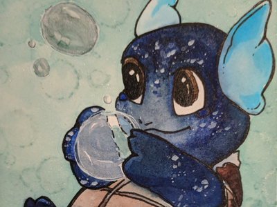Wartortle cute pokemon squirtle wartortle cuteness bubbles sweet cute art pokémon