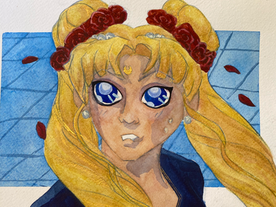 Sailor moon challenge redraw art challenges sailor scouts fan art anime sailor moon