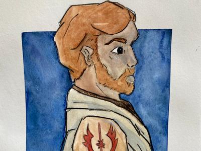 General Kenobi illustration jedi obi-wan character art star wars