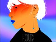 HOLIC vector illustration
