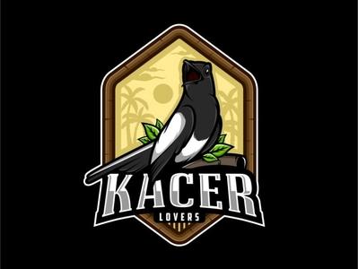 Kacer Bird Logo Illustration By Dimas Yosalino On Dribbble