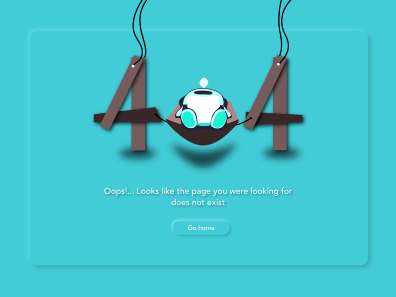 Daily UI #008 / 404 error page error message error 404 error page error 008 ui design dailyuichallenge dailyui ui design adobe xd