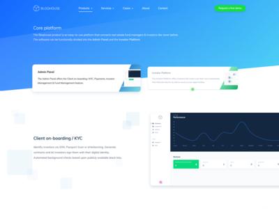 Bloqhouse - Core Platform
