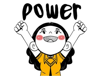 power logo design illustration