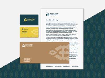 Automation Branding creative logo brand identity designer golden ratio minimalist logo logo rebranding logo design branding visual identity brand identity