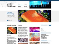 Dan Shiffman: Website Design 1
