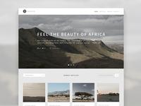 Traveler Responsive Blog Theme