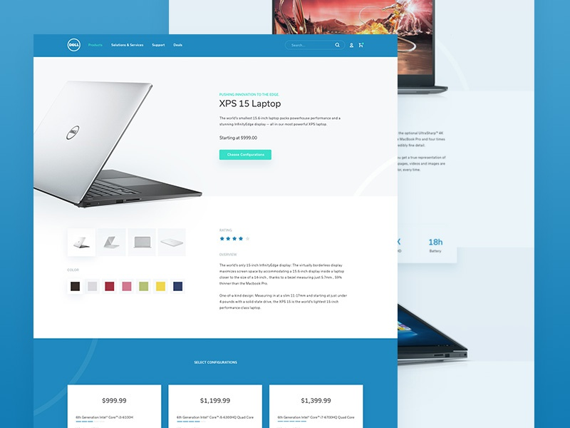 Dell product redesign