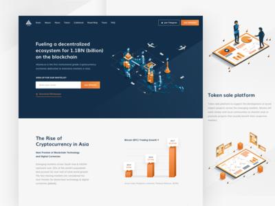 Luma Token Landing Page