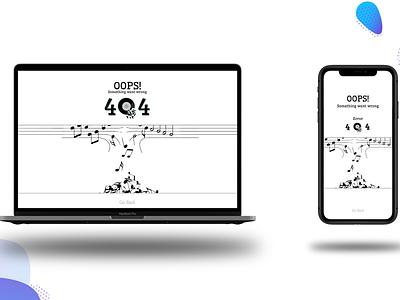 Error 404 Page Design error error 404 app design web app uiux uidesigner uidesign ui design