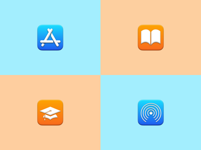 Big Sur Icons real big sur look and feel macos ui designers designs icons