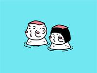 We love onsen.
