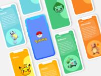 PokeMon Detail App design