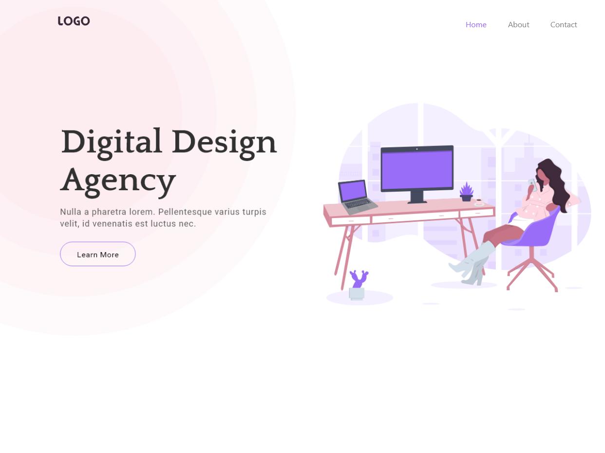 Web Design template illustraion mockup design website flat design