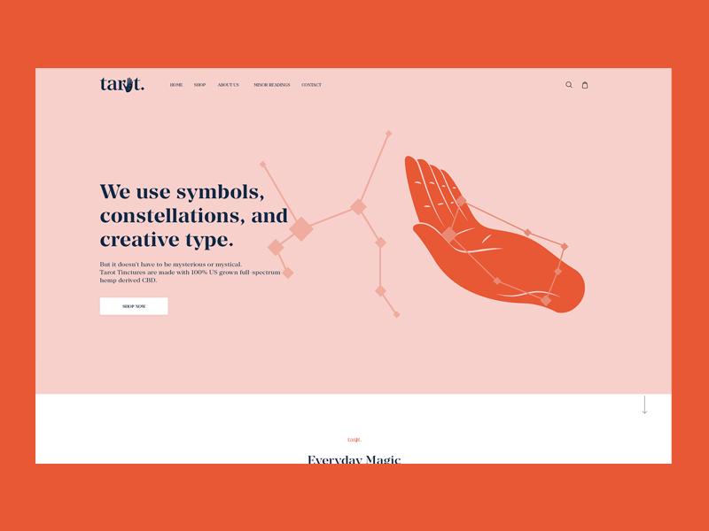 Web page design landing page webdesign website typography illustration ui design flat design