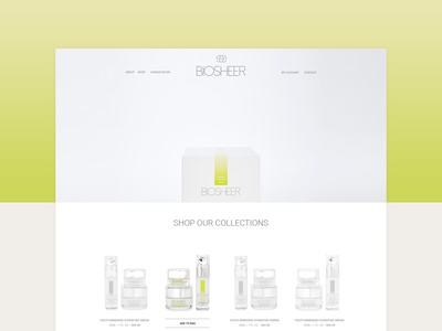 Beauty Care Product Website