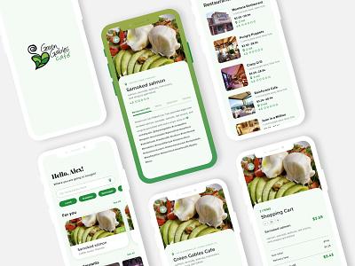 Food App Design cart app order app restaurant app food app illustration android android app mobile app design design