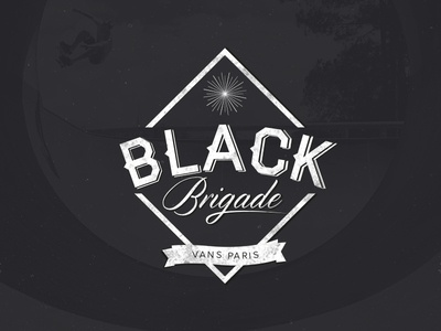 Black Brigade - Skateboard Brand Logo