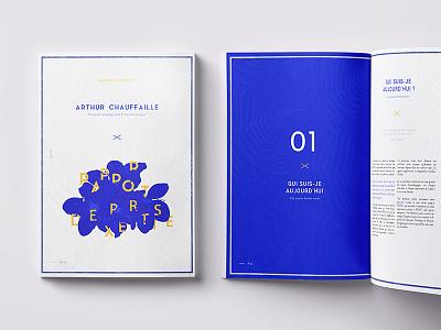 Magazine - Print Layout font composition colors art design document blue layout magazine print