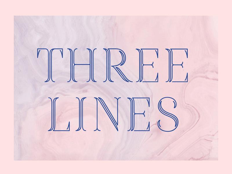 Three Lines