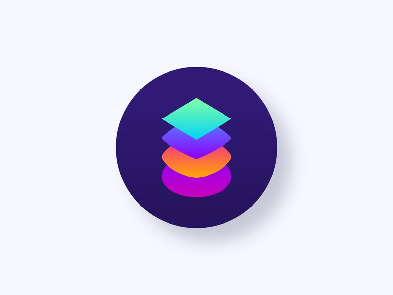 Issue Label Bot branding minimalist modern web design flat badge icon gradient github bot logo