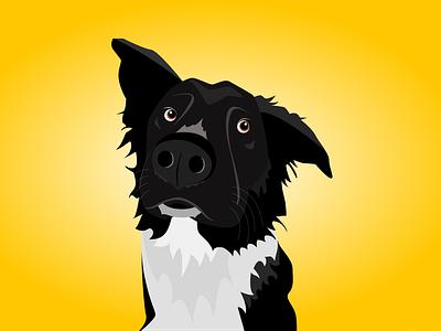 Dog flat character flat design dog illustration dog vector minimal flat illustration design