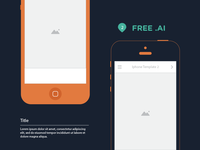 Freebie - Iphone templates for mobile storyboard