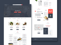 Guide Michelin restaurant page redesign