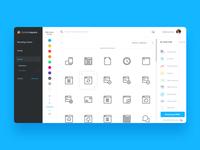 CS Icons Dashboard
