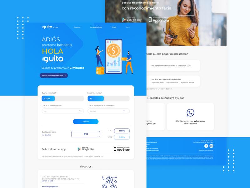 Finance Branding Website