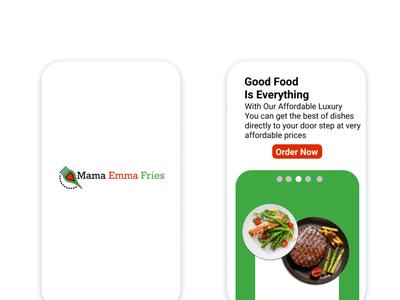 Mama Emma Fries UI app view