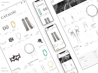 Jewelry store e-commerce concept catalog catalog design catalog mobile ui uidesing jewelry store shop ecommerce inspiration creativity uxui uiux uidesign concept website web design ux interaction ui daily