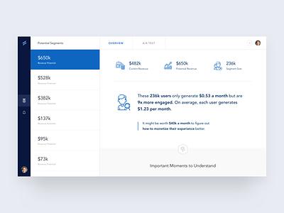 Asgard App artificial intelligence ai ui interface research data app analytics dashboard